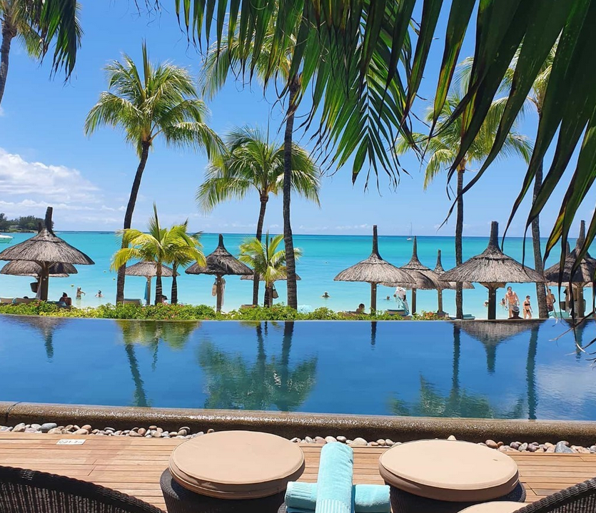 lounger with a view for Winter Sun in Mauritius